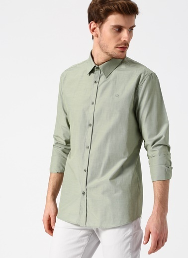 Cotton Bar Gömlek Yeşil